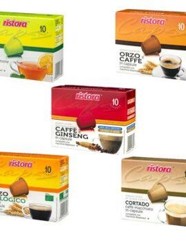 Fotografie kapseln Ristora kompatibel Nespresso
