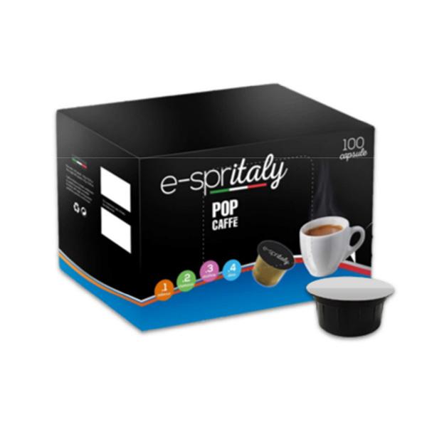 Scatola caffè in capsule Pop caffè